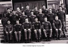 Class 1 Combat Engineer Course 1975