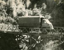 Bridge Mt Kenya,34 sqn 1961