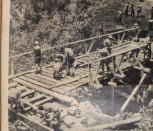 Bridge Mt Kenya,34 sqn 1961